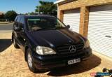 Classic Mercedes Benz ML 320 V6 4x4 SUV for Sale