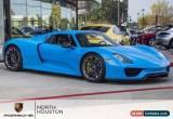 Classic 2015 Porsche Other Base Convertible 2-Door for Sale