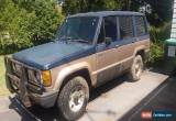 Classic Jackaroo 1986 LS 4X4 straight 6cyl 5 speed turbo for Sale