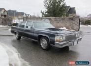 1981 Cadillac Fleetwood Fleetwood for Sale