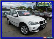 2007 BMW X5 E70 3.0D Executive White Automatic 6sp A Wagon for Sale