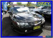 2003 Holden Crewman VY II Black Automatic 4sp A Crew Cab Utility for Sale