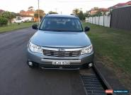 Subaru Forester (2009) 4D Wagon Automatic (2.5L - Multi Point F/INJ) 5 Seats for Sale