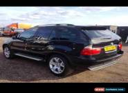2002 BMW X5 D SPORT AUTO BLACK for Sale