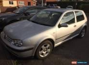 Volkswagen VW Golf, 2002, 3 Door, 1.4 Petrol, Alloy Wheels - Spares Or Repairs for Sale