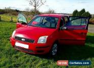 2004 FORD FUSION 2 TDCI 1.4 RED for Sale