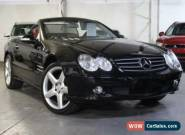 2002 Mercedes-Benz SL500 R230 Obsidian Black Automatic 5sp A Convertible for Sale