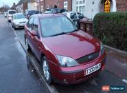 2001 FORD MONDEO GHIA AUTO RED Private Plate for Sale