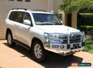 2016 Toyota Landcruiser VDJ200R Sahara White, Crystal Pearl Automatic 6sp A for Sale