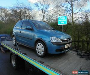 Classic vauxhall corsa 1.2 spares or repair for Sale