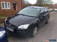 2005 FORD FOCUS LX BLACK spares/repair for Sale
