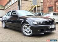 BMW 3 SERIES 2.5 325i AUTOMATIC M-Sport 4dr Manufacturer BMW M Sport for Sale