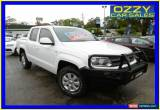 Classic 2011 Volkswagen Amarok 2H TDI400 (4x4) White Manual 6sp M Dual Cab Utility for Sale