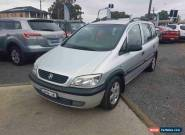 2003 Holden Zafira TT Silver Automatic 4sp A Wagon for Sale