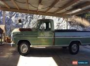 1970 Ford F-100 2 door for Sale