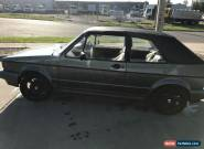 vw Golf 93 Convertible for Sale