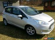 2013 FORD B-MAX ZETEC 1.6 AUTO PETROL SILVER FULL SERVICE HISTORY LOW MILEAGE for Sale