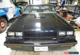 Classic Buick: Grand National GRAND NATIONAL for Sale