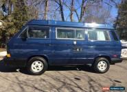 1990 Volkswagen Bus/Vanagon for Sale
