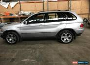 2003 BMW X5 D SPORT AUTO DIESEL SILVER REFURBED GEARBOX for Sale