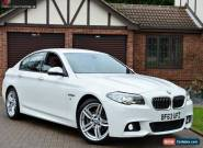 2013 BMW 5 Series 2.0 520d M Sport 4dr for Sale