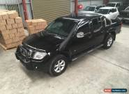 2013 Nissan Navara STX BLACKLINE   6cyl turbo diesel 4x4 AUTO  ideal for export  for Sale