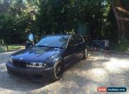 BMW E46 1999 Manual  for Sale
