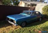 Classic FORD 1968 XT SEDAN, UNFINISHED PROJECT for Sale