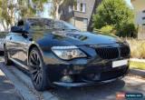 Classic BMW E63 650i M Sport V8 270kW for Sale