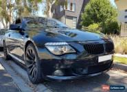 BMW E63 650i M Sport V8 270kW for Sale