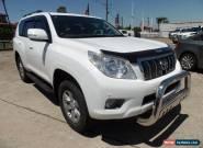 2012 Toyota Landcruiser Prado KDJ150R 11 UPGR GXL (4x4) White Automatic 5sp A for Sale