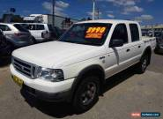 2005 Ford Courier PH GL White Automatic 5sp A Crewcab for Sale