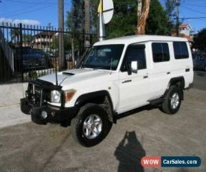 Classic 2012 Toyota Landcruiser VDJ78R MY12 Update GXL (4x4) White Manual 5sp M for Sale