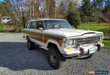 Classic 1989 Jeep Wagoneer for Sale