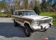1989 Jeep Wagoneer for Sale