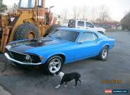 1970 Ford Mustang Base Fastback 2-Door for Sale