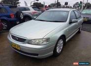 2002 Ford Falcon BA Futura Green Automatic 4sp A Sedan for Sale