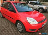 FORD FIESTA 1.25 STYLE 5 DOOR IN BRIGHT RED for Sale