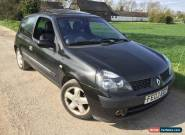 2003 RENAULT CLIO DYNAMIQUE 16V SPARES OR REPAIRS NO RESERVE NEW MOT  for Sale