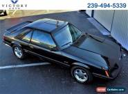1986 Ford Mustang GT 3-Door Runabout for Sale