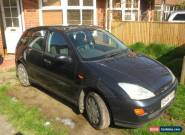 FORD FOCUS CL 1.4 (2001) SPARES OR REPAIR for Sale