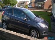 2014 FORD FIESTA ZETEC REALLY LOW MILEAGE, EXTRAS & ONLY 1 OWNER for Sale
