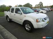 2012 Nissan Navara D22 Series 5 ST-R (4x4) White Manual 5sp M Dual Cab Pick-up for Sale