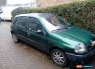 2001 RENAULT CLIO ALIZE GREEN for Sale