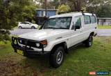 Classic >> 239 kms << 2005 Toyota Landcruiser Troopcarrier Troopy Diesel for Sale
