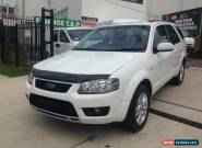 2010 Ford Territory SY Mkii TS (RWD) White Automatic 4sp A Wagon for Sale