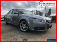 2007 Audi A4 1.8T QUATTRO B7 4D TURBO MPFI 1.8L T4CYL 6SP` Grey Manual M Wagon for Sale