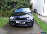 2009 BMW 1 Series 2.0 116d Sport 5dr Black, Diesel, 102k, Manual for Sale