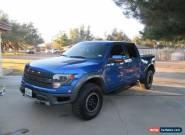 2014 Ford F-150 SVT Raptor Crew Cab Pickup 4-Door for Sale