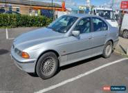 2000/W BMW 523I SE SILVER AUTO - LEATHER - Good Runner - Spares or Repair for Sale